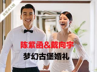 陈紫函戴向宇今日大婚!梦幻的古堡婚礼简直太浪漫!