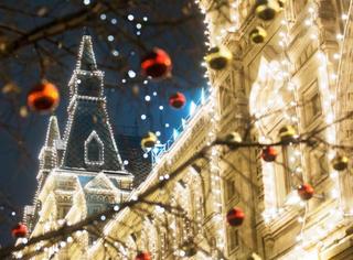 一周我槽   俄罗斯街头的圣诞灯美成了童话世界!