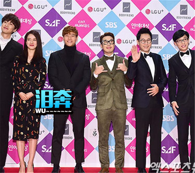 李光洙落泪、金钟国被曝女友,昨晚SBS大赏的亮点都在这儿了!
