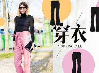 【穿衣MorningCall】短打上衣+高腰长裤,简直是冬天酷女孩的专利!