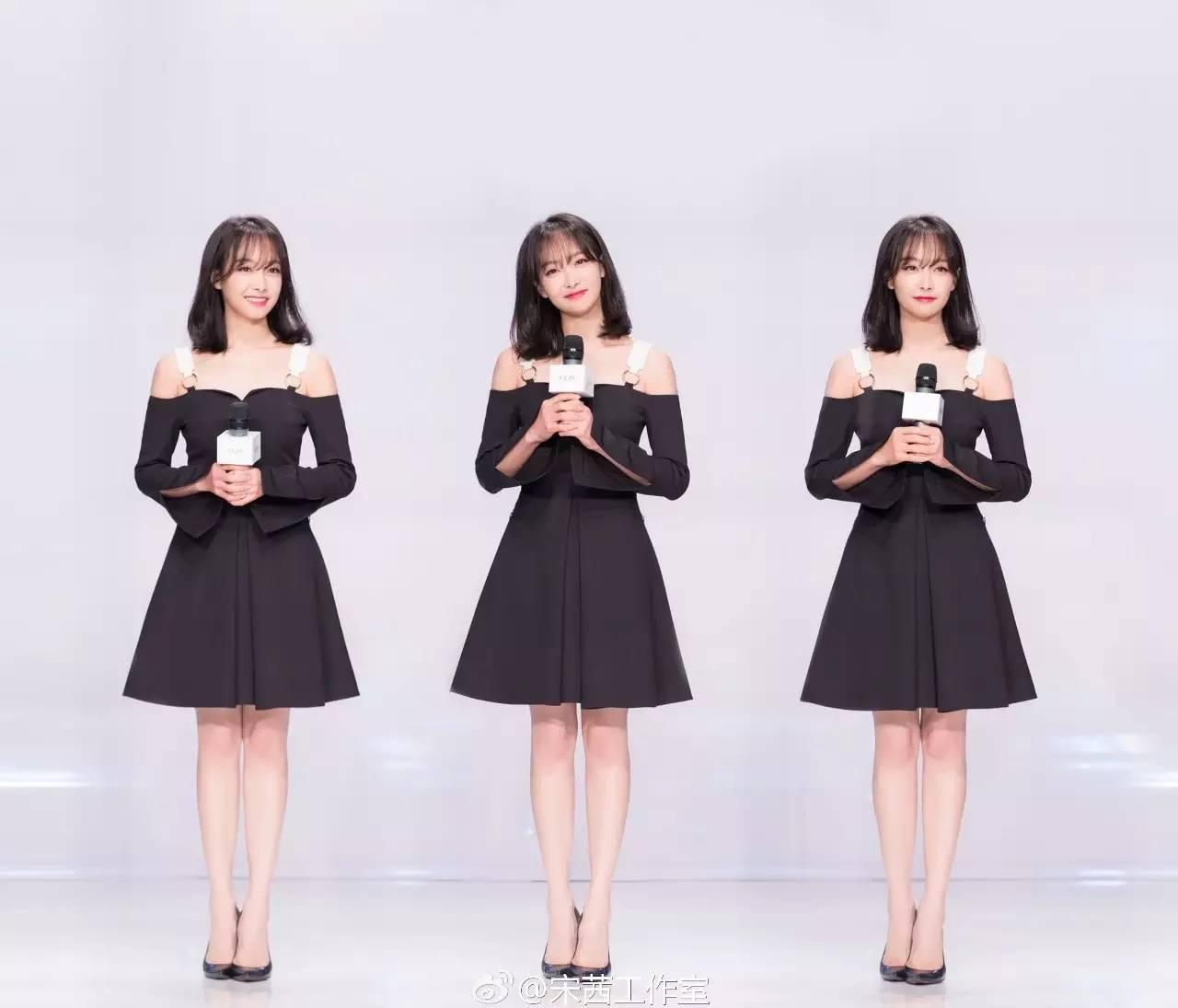 """不撞衫又能穿对,唐嫣、宋茜、佟丽娅的""""心机""""仅是一件轻礼服!"""