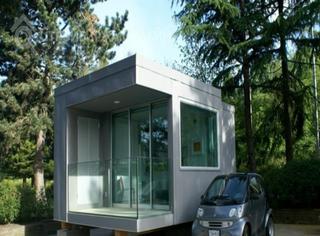 大乐高现在可以用来盖房子,或者改造室内设计