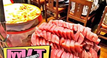 只要66块!这样的生鱼片就能吃到饱!东京感人料理之最!
