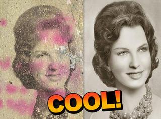 这个凭创造力修复老旧照片的人,把丢失的记忆全找了回来...
