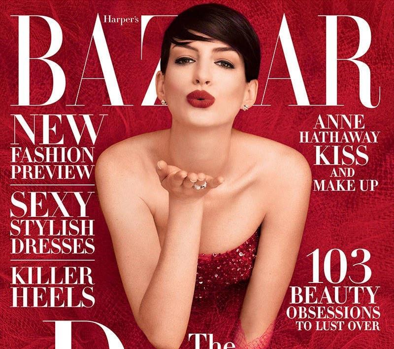 烈焰红唇变血腥玛丽 安妮海瑟薇的时装片是鬼畜还是美?