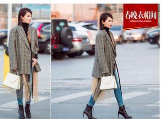刘涛西装+牛仔亮相春晚彩排,时髦帅气的安迪又回来啦!