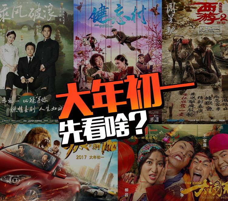 调查:春节档5部大片,你的观影先后顺序是啥样?