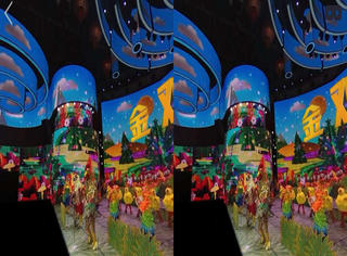 """VR春晚初体验,我以前可能看到都是""""假的晚会"""""""