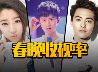 央视春晚收视率TOP5节目,张杰毛阿敏对唱登收视顶点!