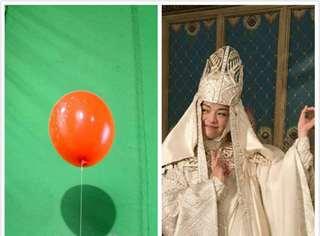 九宫真人的随心随性大法太厉害,wuli姚晨对着气球就能飙戏!
