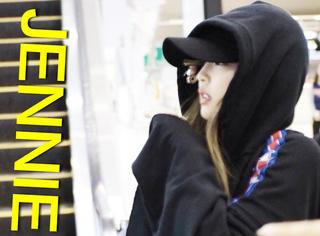 真不愧是GD的师妹,Jennie这身造型绝对是受权志龙影响的