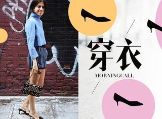 【穿衣MorningCall】2017流行趋势之:高跟鞋out!猫跟鞋in!