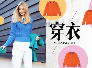 【穿衣MorningCall】春天穿啥?还是温暖淑女的毛衣最实用!