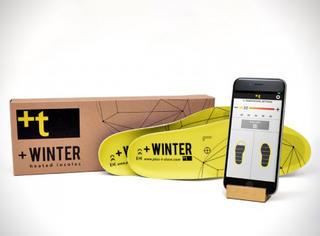 这年头连鞋垫都能用手机进行遥控加温了!过冬神器啊!