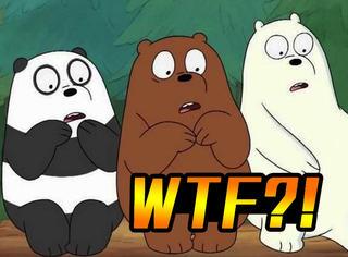【表情包】《咱们裸熊》~三只傻熊的搞笑日常表情包~