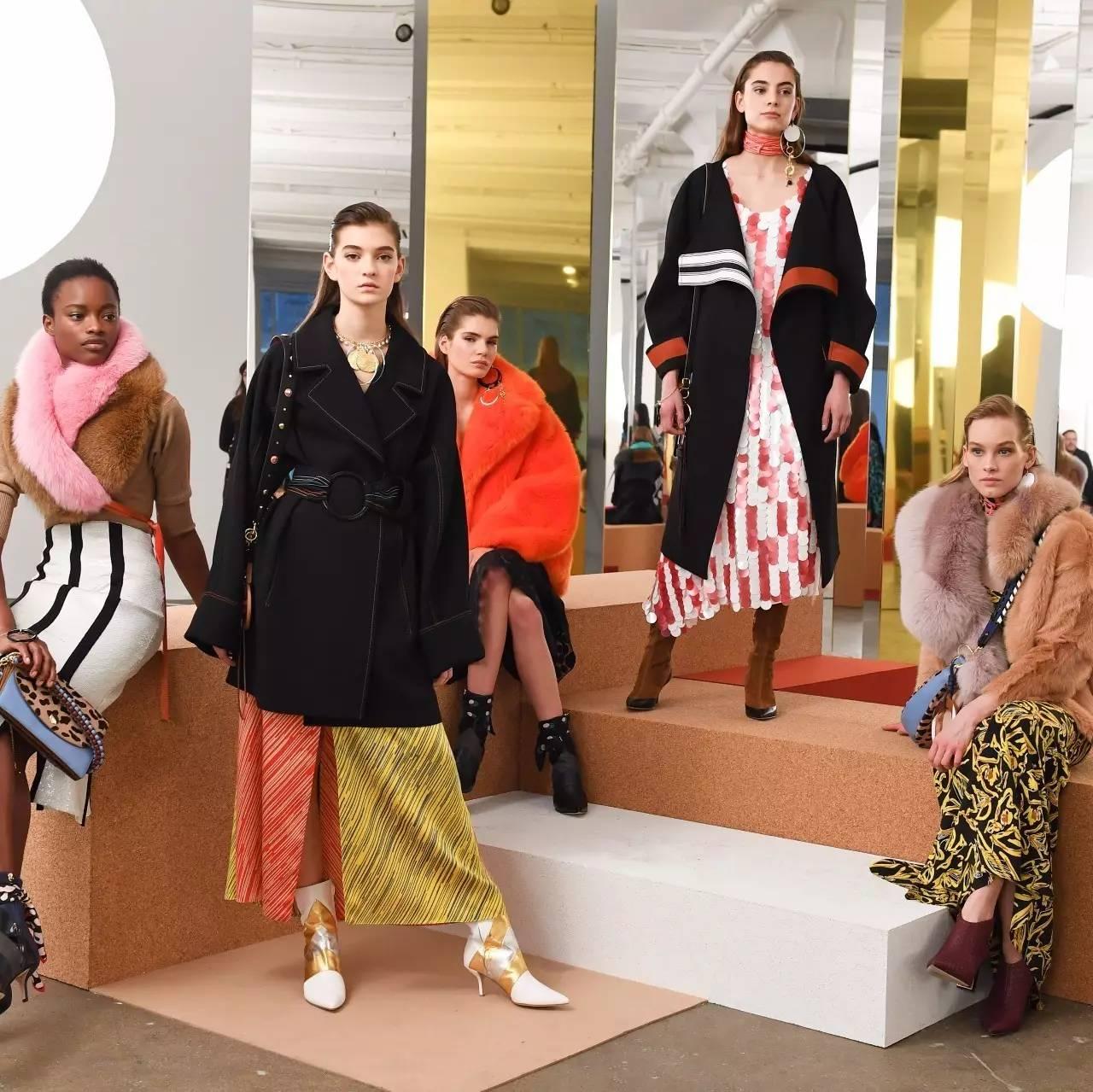 纽约时装周|DVF好有心机,原来穿好大色块其实很简单!