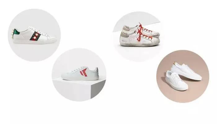 最新款最时髦的小白鞋合集|今天全是大牌每双都好看