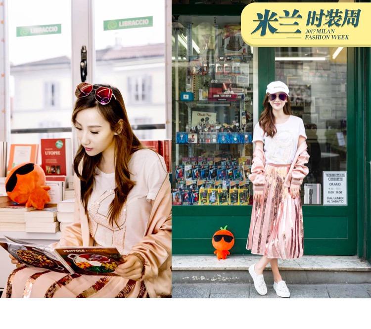 高洋带着橘子逛米兰:文艺PinkGirl在转角书店带走了两本美食书!