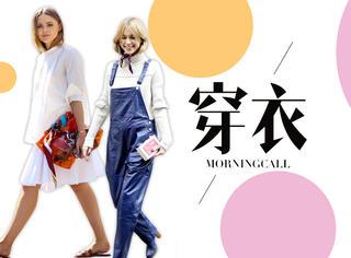 【穿衣MorningCal】春天到了,系好丝巾胜过添10件新衣!
