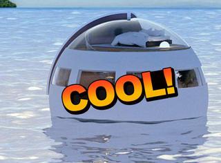 日本推出睡眠胶囊,带你漂着去无人岛