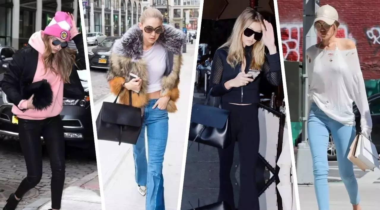 你和Gigi Hadid之间到底差多少个包?