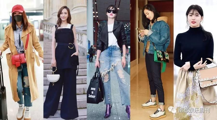 杨幂的长系带两用包、唐嫣的马鞍包、宋茜的吊床包……流量女星买包团又来安利啦!