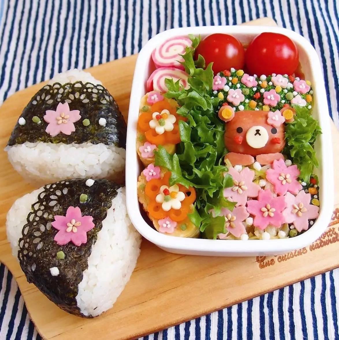 日本一年轻主妇给老公做的午餐便当火遍ins,这画风让人怀疑人生…