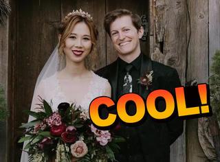 他们举办了一场哈利波特主题婚礼