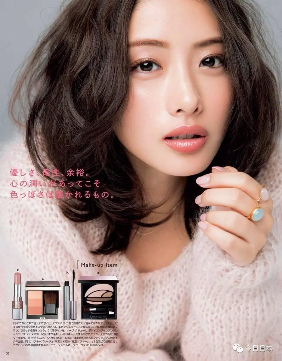 日妆人气模特的妆容解析!用在她们脸上的化妆品我都想买!