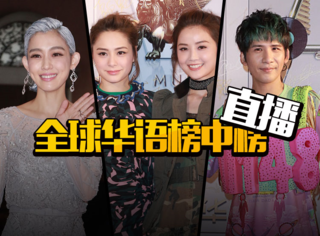 直播全球华语榜中榜:张伟最受欢迎男歌手,TWINS获亚洲最佳组合