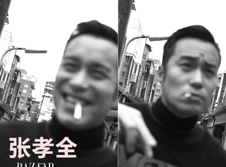 台北偶遇张孝全,文艺男神的花衬衫和机车服!