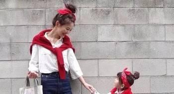 一日本妈妈将自己的亲子搭配放到网上后,引来上万人关注!