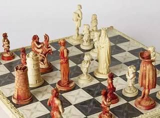 神乎其技:这些象棋真舍不得下了