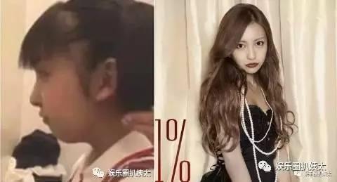 日本整容技术秒杀韩国!女优变脸前后对比,换头都能做纯天然美人!