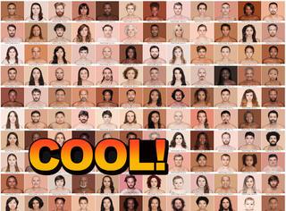 这有人类最全的皮肤色号,你是哪种颜色?