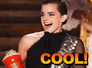 艾玛·沃森凭《美女与野兽》获MTV最佳演员,拿奖也不忘提平权!