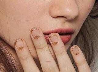 短指甲也能美甲,选对造型一样美美哒!