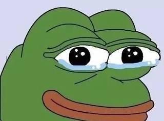 悲伤蛙Pepe都死了!感觉世界不会好了...