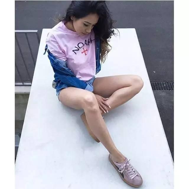 正妹|秒杀AJ Girls,她们是有腿有颜的Puma Girls!