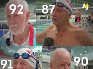 4位老人走进一家游泳馆,脱光衣服后,所有人都被震撼了…