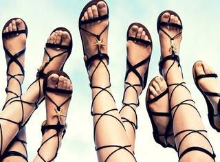 你穿罗马鞋把脚绑成粽子 是应景端午节吗