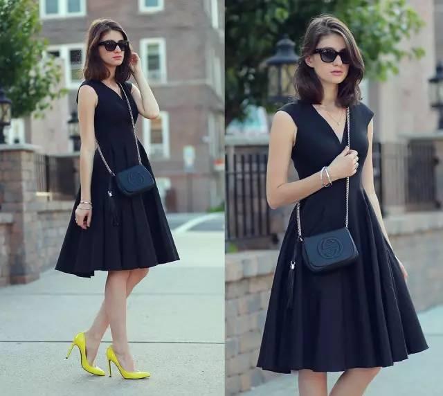 技巧|腰粗、腿粗、臀大、肩宽?一条连衣裙就能解决,你负责美就够了