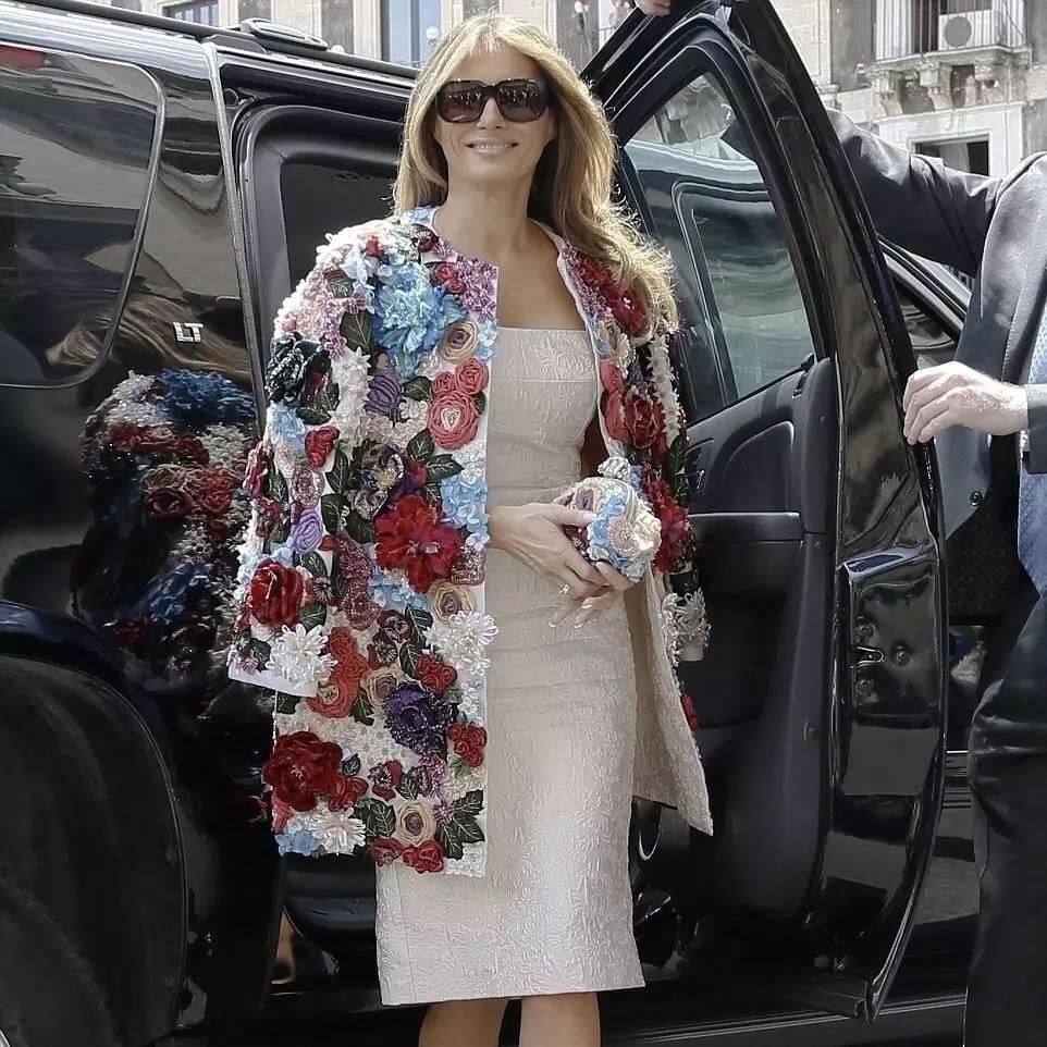 川普老婆穿着35万的杜嘉班纳出席G7峰会还是输了?这场第一夫人大战的最终赢家你可能想不到...