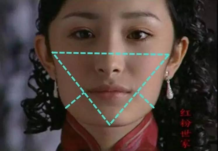 原来下颌角会长到40岁,杨幂也有再变方脸的可能……