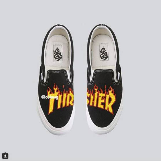 《Thrasher》火焰Vans联名;致敬 LGBTQ Nike『BETURE』系列 | 潮闻快食