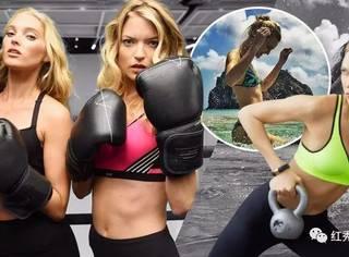 比你瘦还比你努力的明星们,连运动也比你时髦!