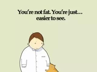 你不是胖只是醒目,准备好接受10000点暴击了吗?!