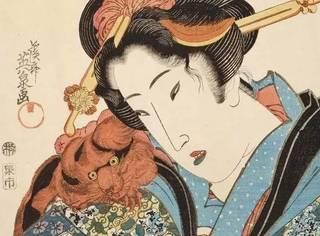 染黑牙、剃眉毛,日本古代女人为什么这么吃藕?