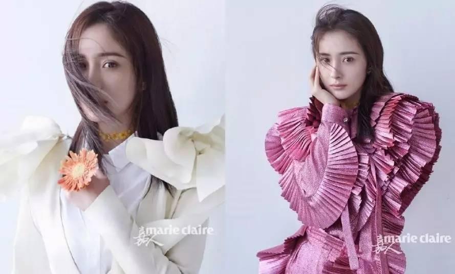 中国女星杂志硬照谁最强?范冰冰、杨幂、郑爽小输了她一场