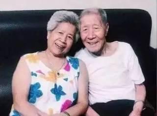 台湾96岁网红爷爷老夏去世:有的爱情,牵手了就是一生!